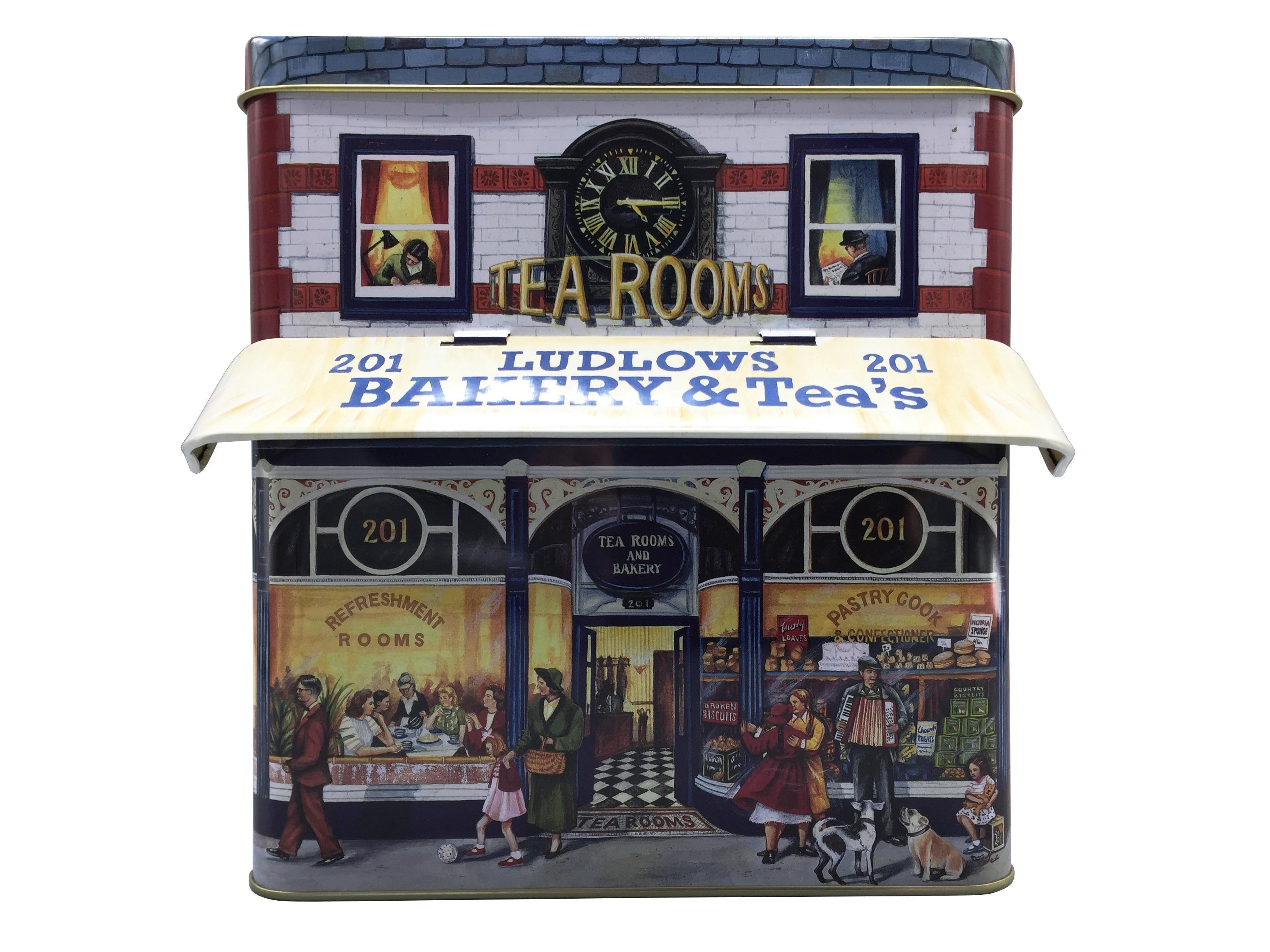 10600 Großes Haus Bakery mit Vordach
