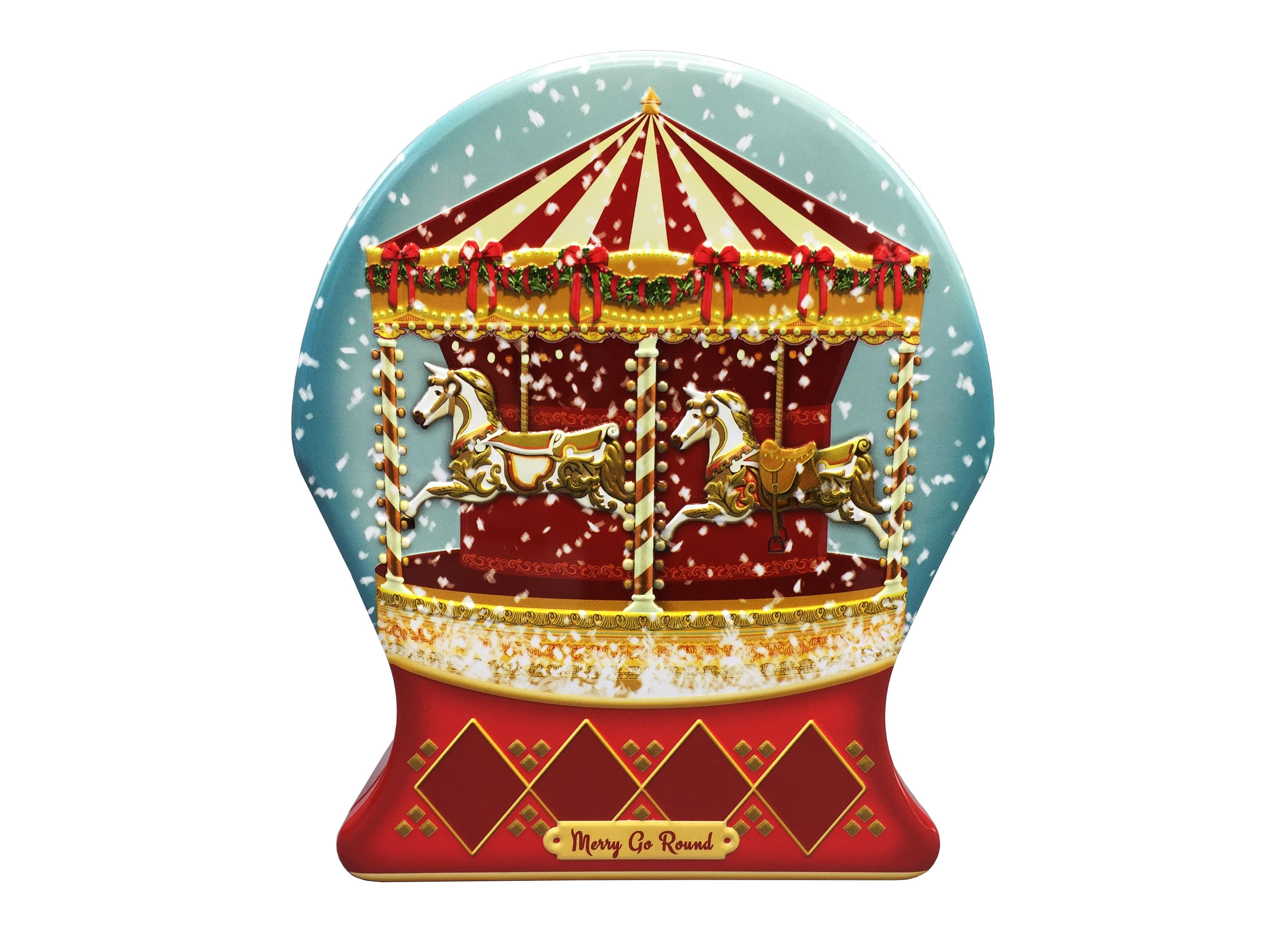 10440 Schneekugel Merry Go Round