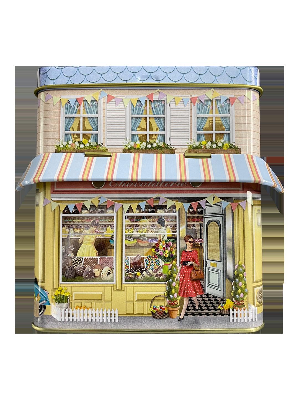 10613 Kleines Haus Chocolaterie mit Vordach
