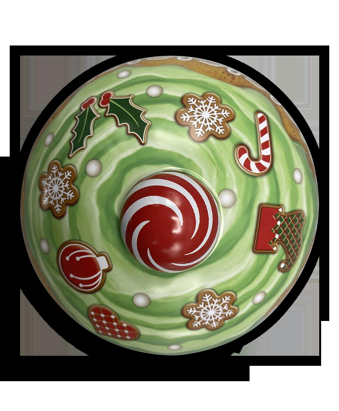 10207 Cupcake natalizio Swirl