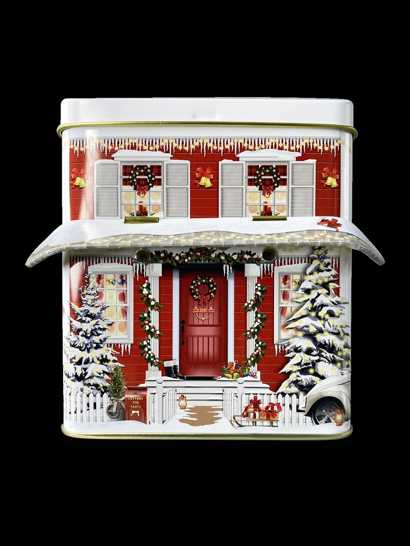 10617 Casetta invernale con tettoia