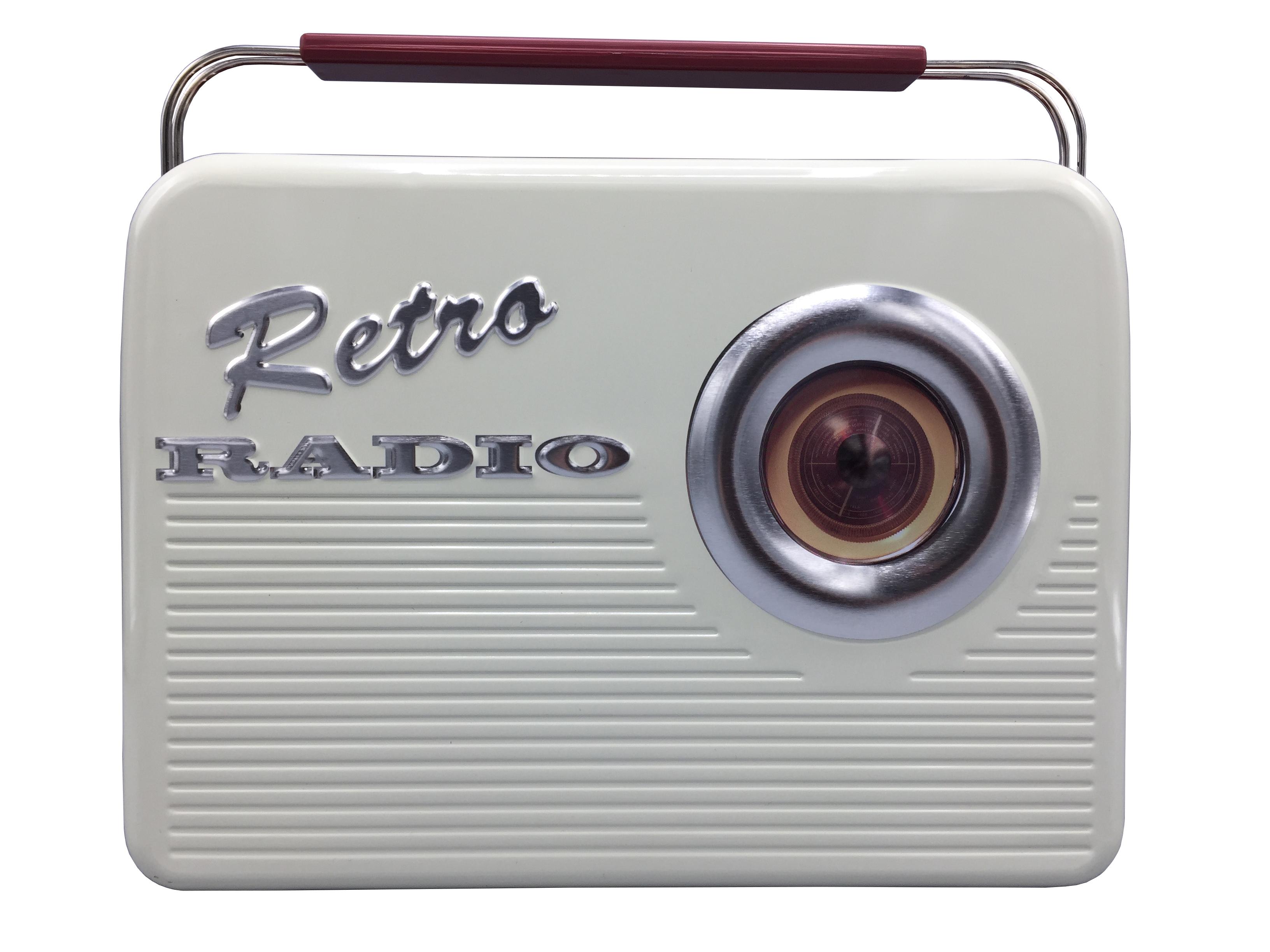10410 Retro Radio beige