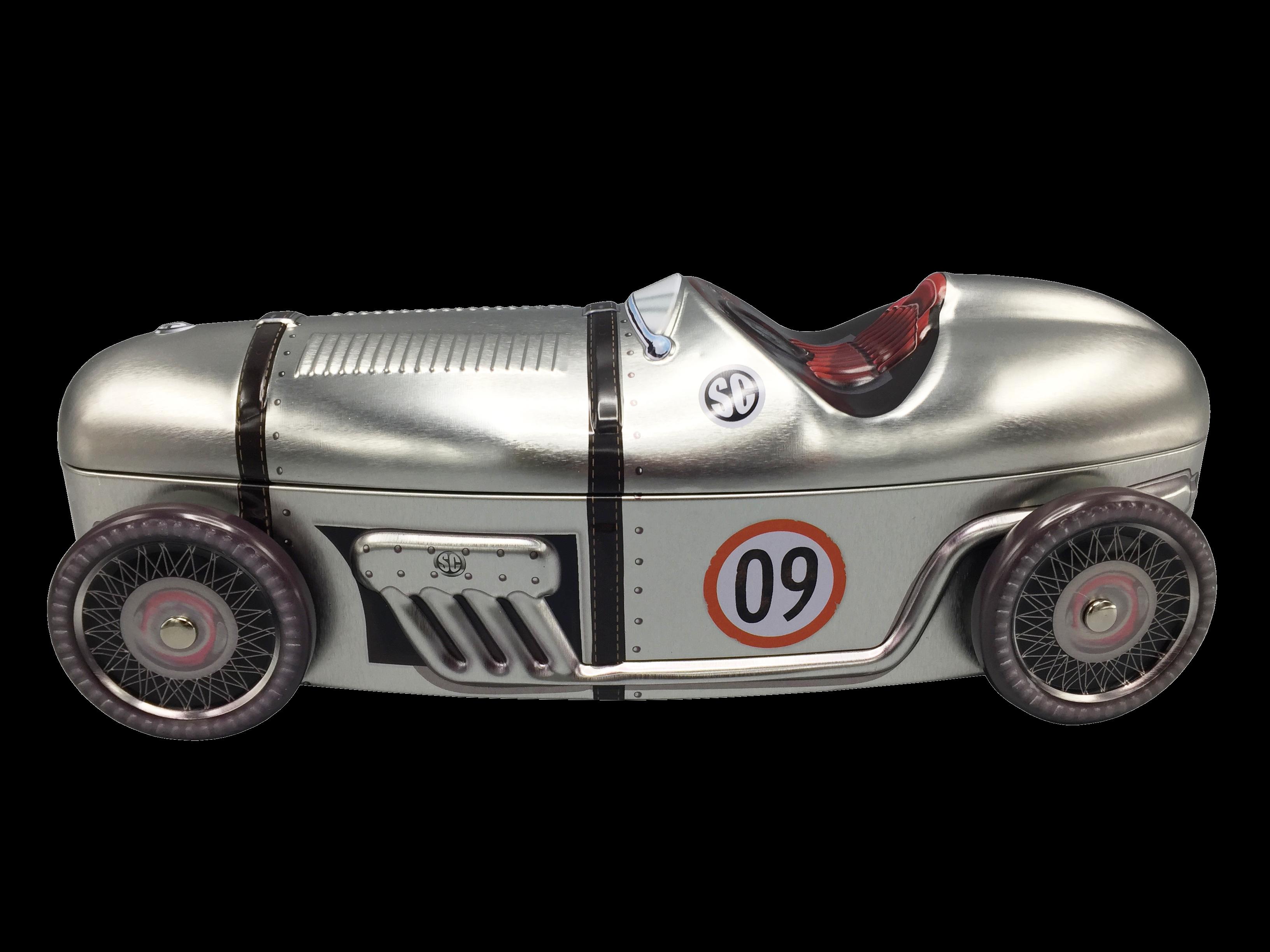 10011 Auto da corsa nr. 09 argento