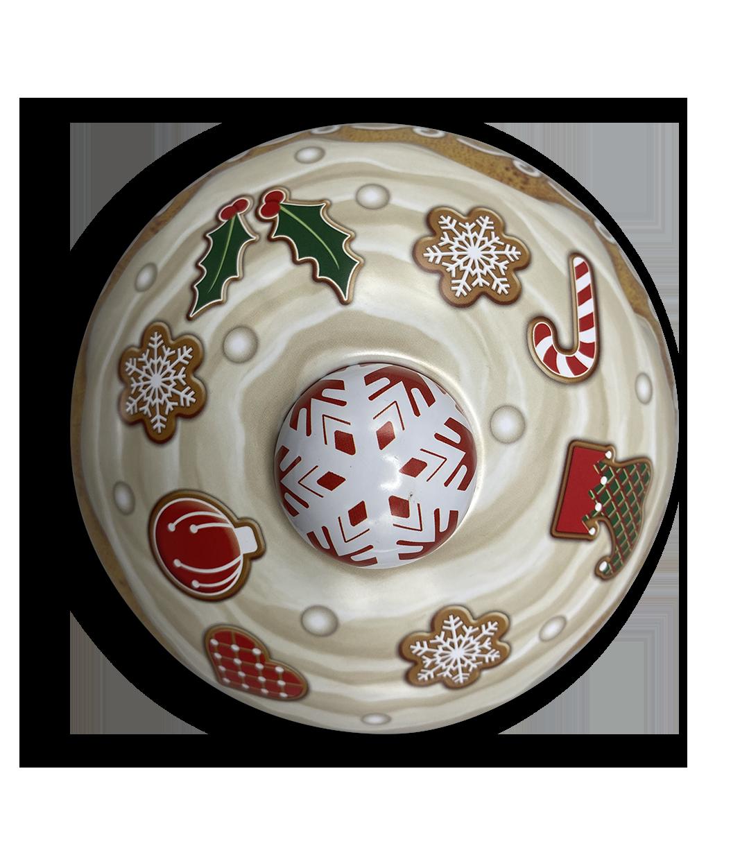 10206 Weihnachts Cupcake Schneeflocke