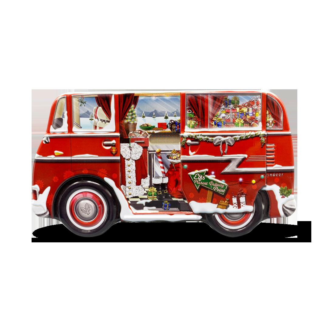 10078 Mini Camper Van Babbo Natale
