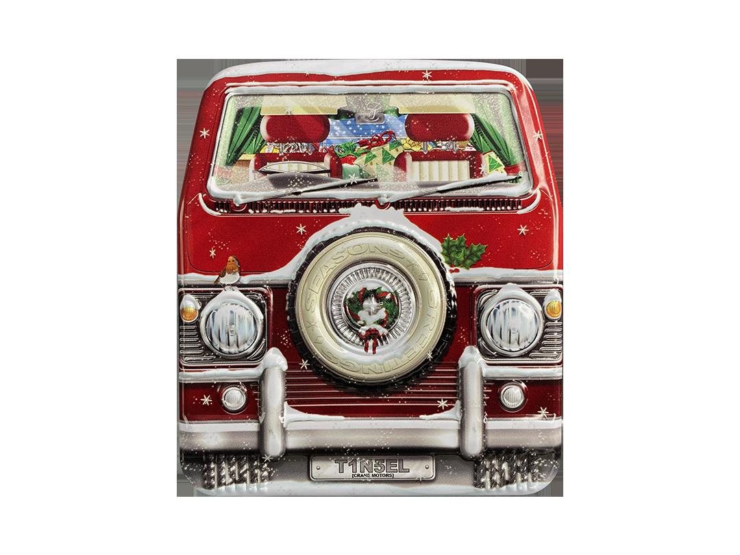 10100E Mini Camper natalizio - parte anteriore
