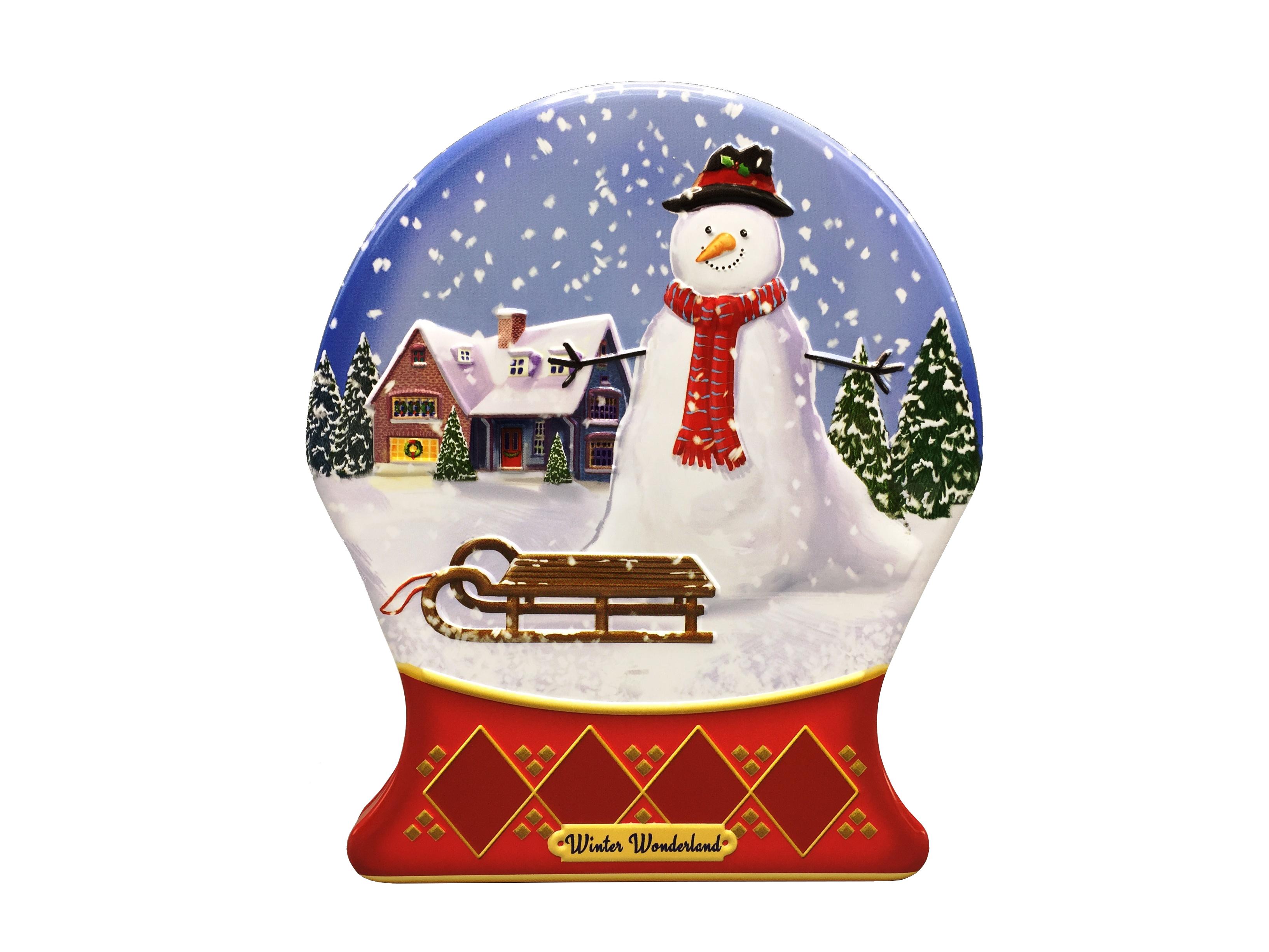 10442 Palla di vetro Winter Wonderland