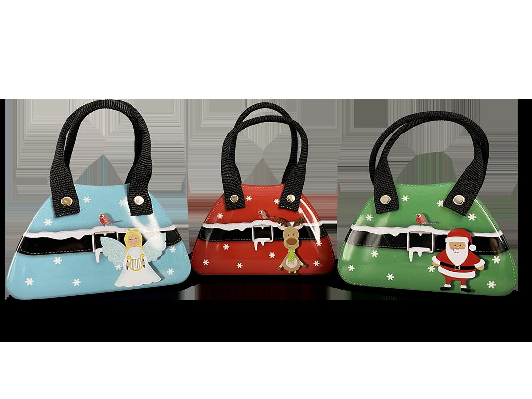 10435 Piccole borsette natalizie assortite